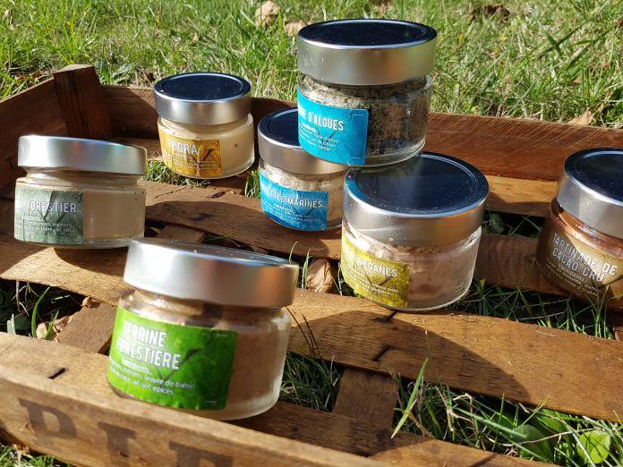 Bannière produits Terra Vega Vegan in Nantes financement participatif Blue Bees