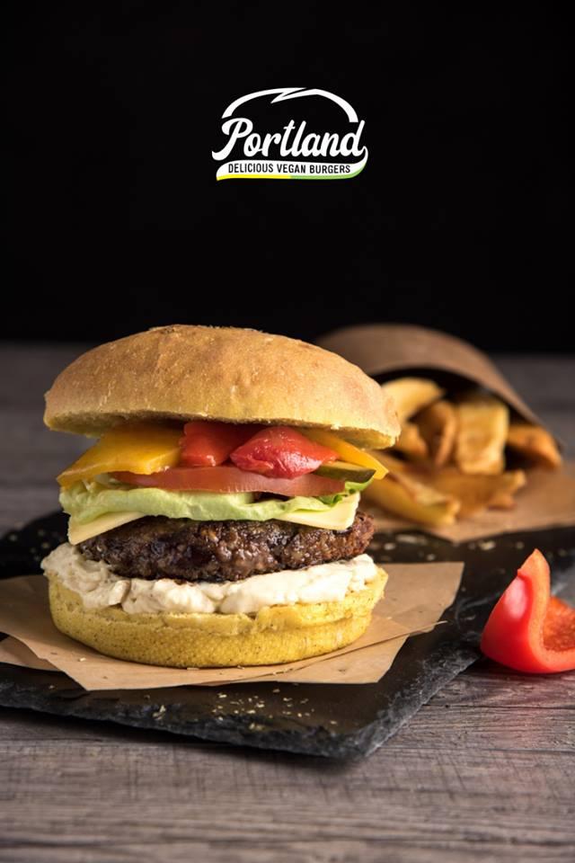 Burger aioli Portland vegan burgers Vegan in Nantes