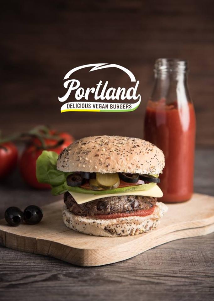 Burger ketchup Portland vegan burgers Vegan in Nantes