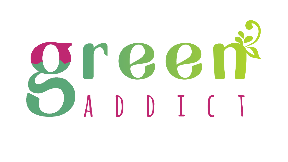 Logo Green Addict Vegan in Nantes