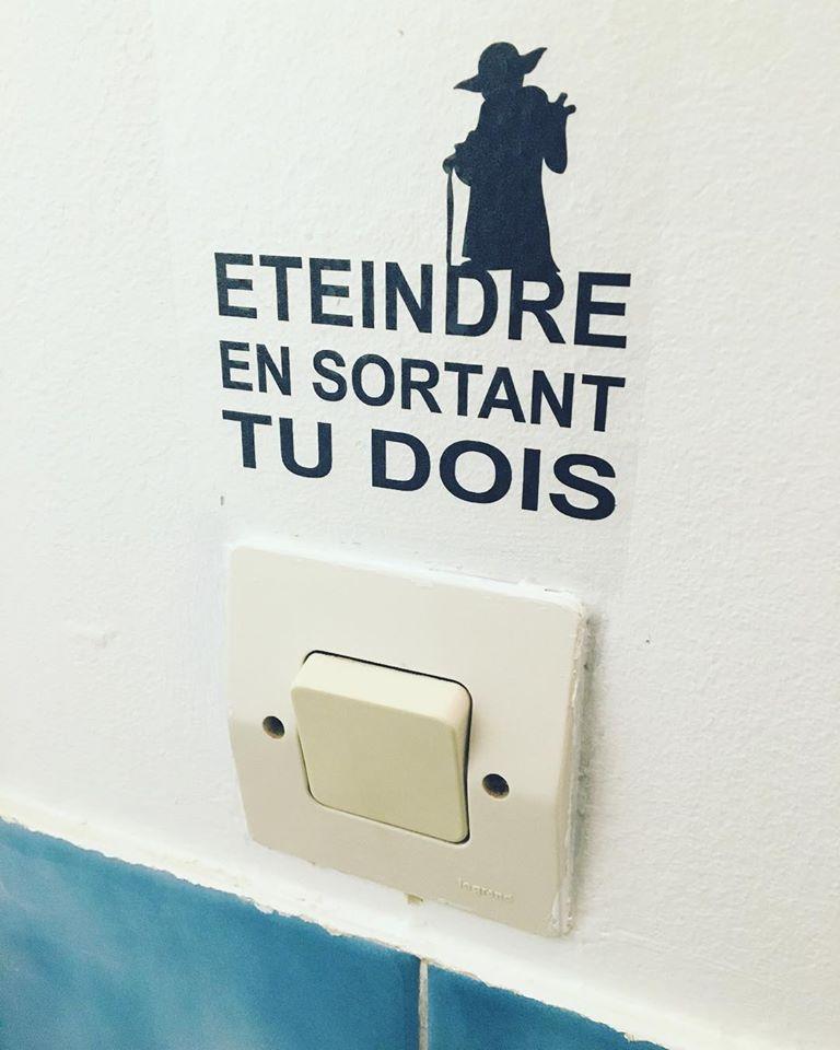 Star Wars toilettes L'Ethiquête Vegan in Nantes
