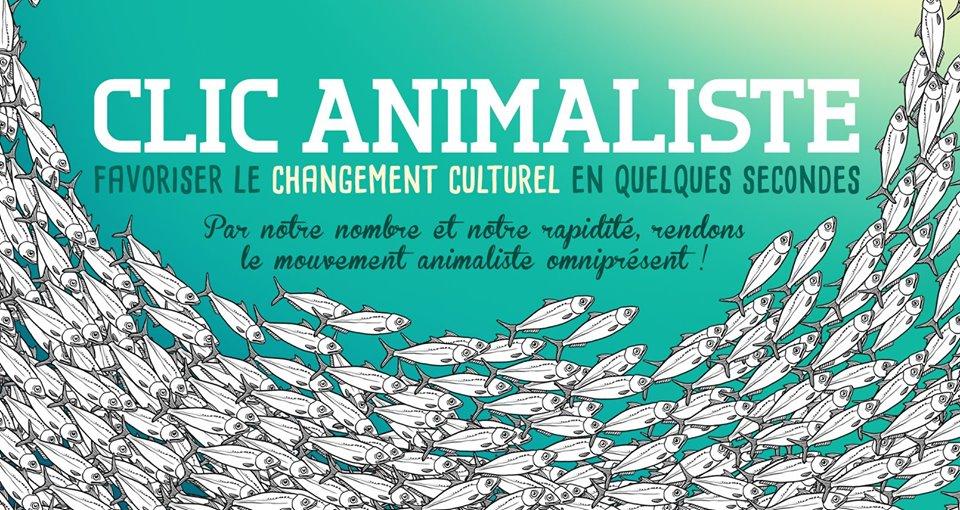 Clic Animaliste Favoriser le changement culturel en quelques secondes