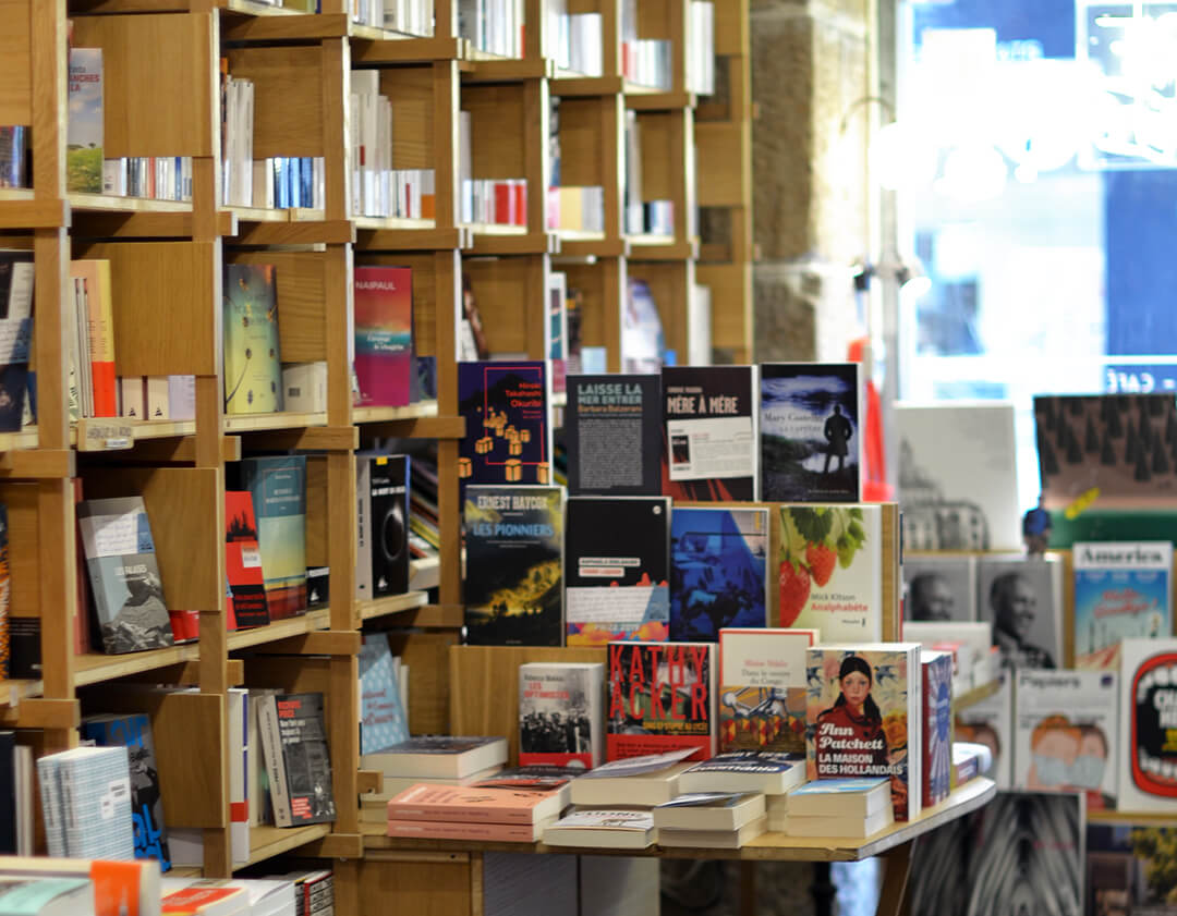 Intérieur Librairie Café Les Bien-Aimés
