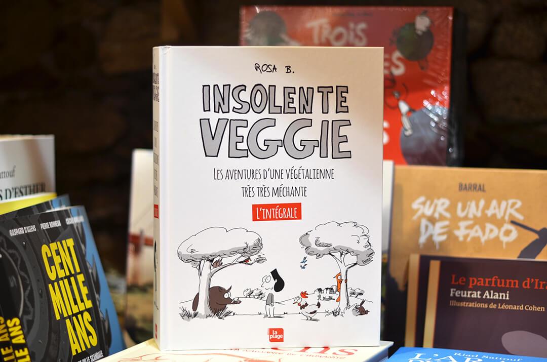 Livres veggie librairie Les Bien-Aimés