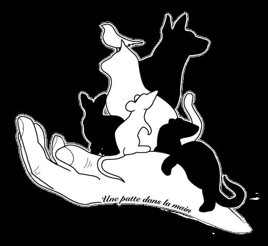 Logo association Une Patte Dans la Main