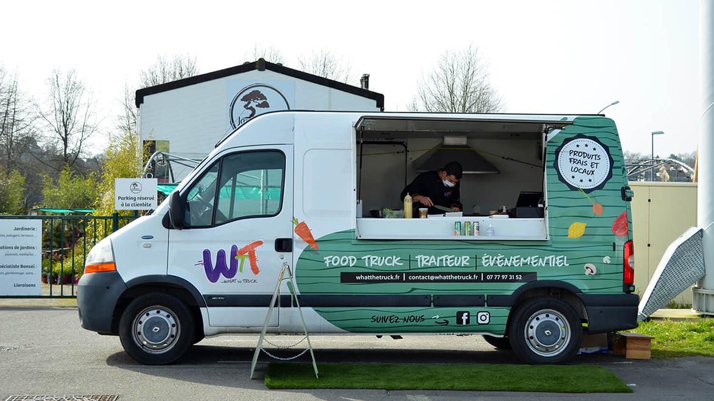 What The Truck food truck vegan